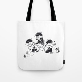 THE HOLY TRINITY PT II Tote Bag
