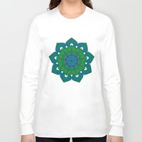 lotus Long Sleeve T-shirts featuring Lotus by Angelo Cerantola
