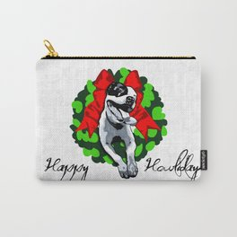 Happy Howlidays Carry-All Pouch