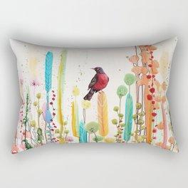 toujours le jour se leve Rectangular Pillow