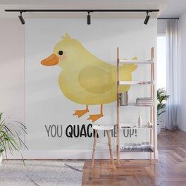 You Quack Me Up - Cute Duck Wall Mural