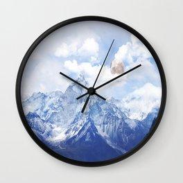 Slope Uni Wall Clock