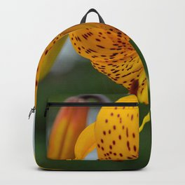Yellow Spotted Lily by Teresa Thompson Backpack