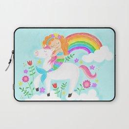 Unicorns, Mermaids & Rainbows...Oh My! Laptop Sleeve