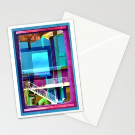 Motel Swimming Pools A First Dip Stationery Cards
