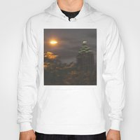 atlanta Hoodies featuring Atlanta Underwater by Freda Gay Collections