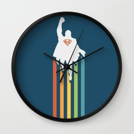 Superman - Man of steel Wall Clock