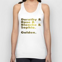 golden girls Tank Tops featuring Golden girls are awesome by junaputra