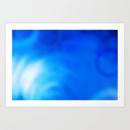 bluelight Art Print