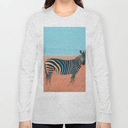 Colorful Zebra Long Sleeve T-shirt