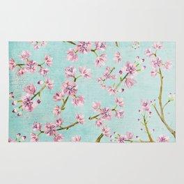 Spring Flowers - Cherry Blossom Pattern Rug