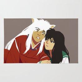 Inuyasha and Kagome Rug