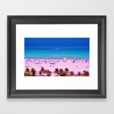 Miami Nice Framed Art Print