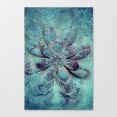 Tin Flower Canvas Print
