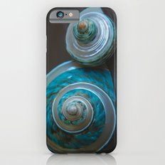 Blue and Green Seashells iPhone 6s Slim Case