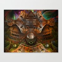 oz Canvas Prints featuring Oz by Robin Curtiss