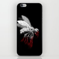 politics iPhone & iPod Skins featuring INSECT POLITICS by BeastWreck