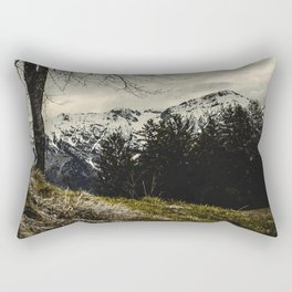 Against the Wind Rectangular Pillow
