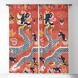 Ningxia West China Pillar Rug Blackout Curtain