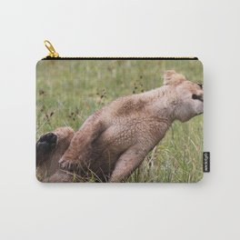 Silly lion cub Carry-All Pouch