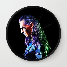 Loki - A Study In Perfection III Version Two Wall Clock