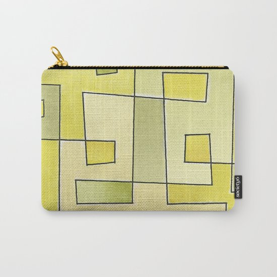 "Proto pattern n 2 ""fresh lemonade"" Carry-All Pouch"