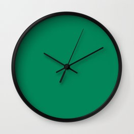 Jelly Bean Green Wall Clock