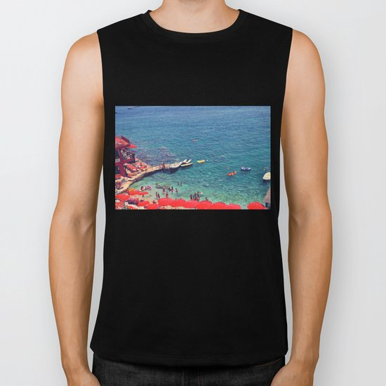 Summers in Capri are what dreams are made of. Biker Tank