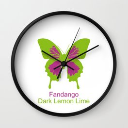 Ulysses Butterfly 15 Wall Clock