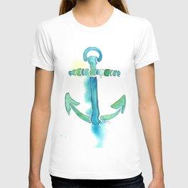 Watercolor Anchor T-shirt