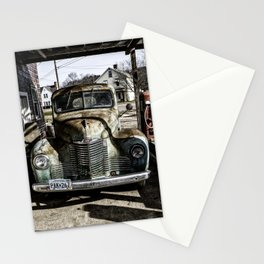 Vintage pickup truck Stationery Cards