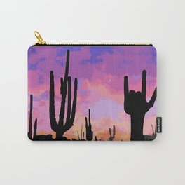 Signs seen in the Desert  Carry-All Pouch