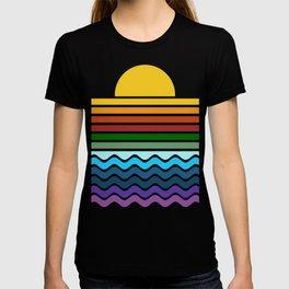 Geometric Rainbow Nature T-shirt