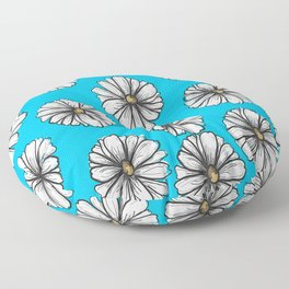 Please Don't Eat the Daisies Floor Pillow