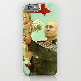 Baby Trump And Vladimir Putin Meme iPhone Case