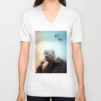 breaking bad V-neck T-shirts featuring Breaking Bad by Crazy Thoom