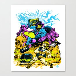 Masters of the Old School Canvas Print
