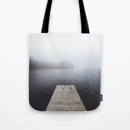 Fading into the mist Tote Bag