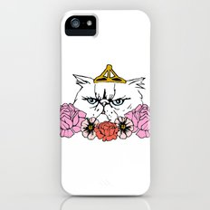 Queen Cat Slim Case iPhone (5, 5s)
