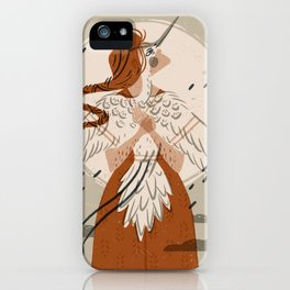 Crane Spirit | Alex Gold Studios iPhone Case
