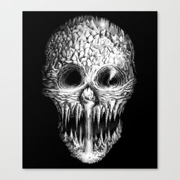 Skullunker Canvas Print