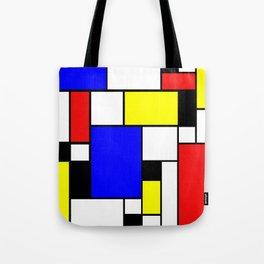Colored Squares Art Tote Bag