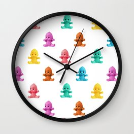 We Come in Many Colors Wall Clock