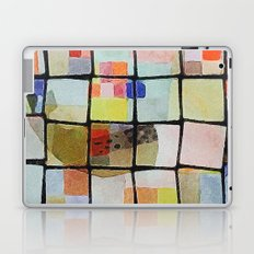 whale in reassembled color squares Laptop & iPad Skin