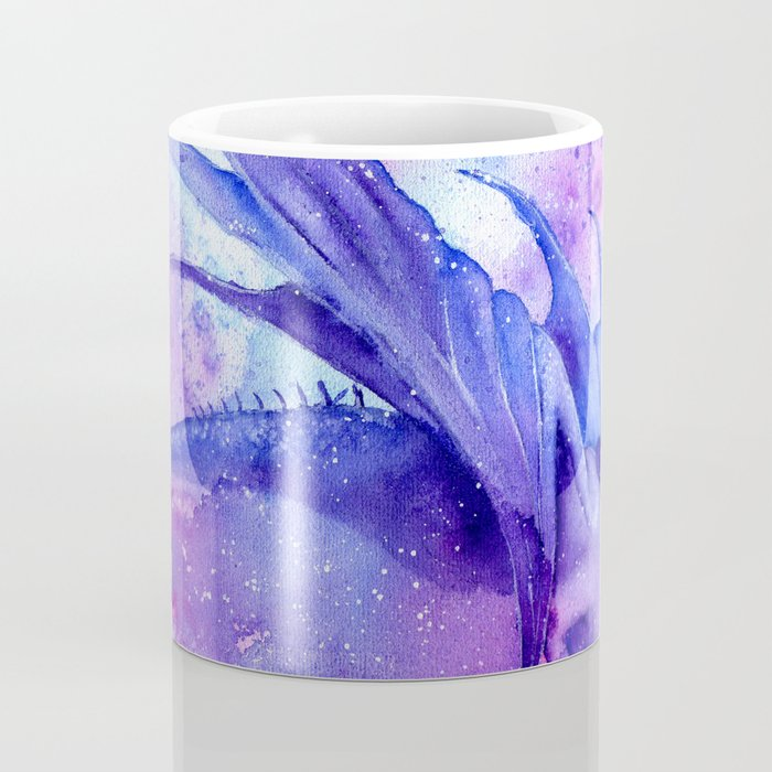 Purple Dragon Coffee Mug