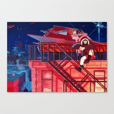 Lookouts Canvas Print