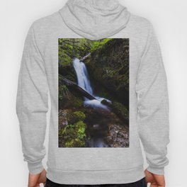 Waterfall in enchanted forest Hoody