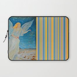 Bless me | Guardian Angels are Here | Angel of Abundance | Love Laptop Sleeve