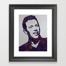 chris martin Framed Art Print