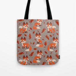 Cute Foxes Tote Bag